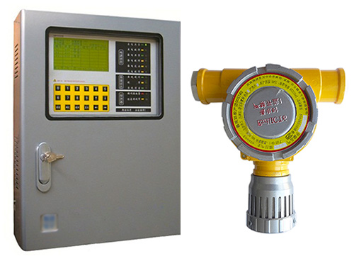 SNK8000氢气报警器(1-64路,四总线)
